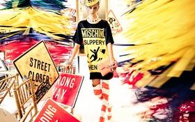 Обои Moschino, 2016, Summer, Spring, модель