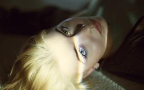 Картинка девушка, лицо, блондинка