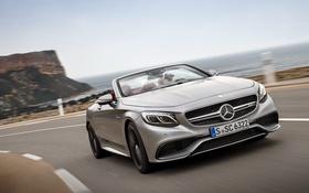Картинка Mercedes-Benz, кабриолет, мерседес, AMG, Cabriolet, S-Class, A217