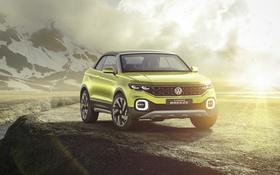Обои Concept, Volkswagen, концепт, фольксваген, T-Cross