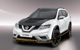 Обои Concept, Nissan, ниссан, X-Trail, х-трейл, икстреил