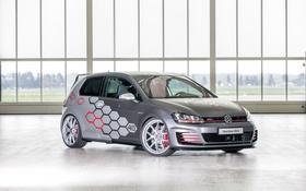 Картинка Volkswagen, гольф, Golf, GTI, фольксваген