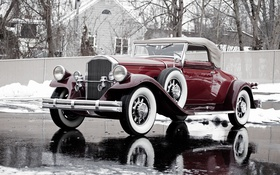 Обои 1931, Convertible, Pierce-Arrow, Model 42