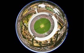 Обои Австралия, стадион, крикет, Мельбурн