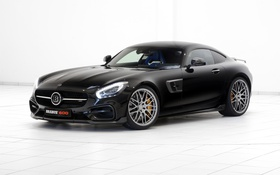 Обои C190, Brabus, Mercedes-Benz, брабус, AMG, GT-Class, мерседес