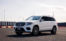 Обои Mercedes-Benz, мерседес, AMG, X166, GLS-Class