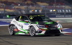 Обои сеат, Leon, Seat, леон, TCR International Series
