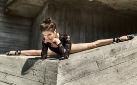 Картинка взгляд, девушка, ножки, балерина
