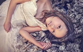 Картинка взгляд, настроение, модель, макияж, азиатка
