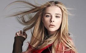 Картинка модель, актриса, блондинка, фотограф, журнал, фотосессия, Chloe Moretz