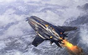 Обои avion, Sci fi, strange invention