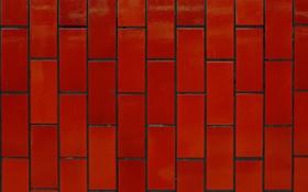 Обои стена, текстура, красная