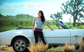 Картинка модель, актриса, красавица, певица, автомобиль, selena gomez, латина