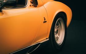 Картинка стиль, Lamborghini, колесо, классика, Miura