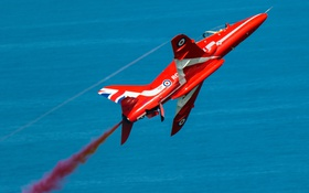 Картинка авиация, авиашоу, самолёт, Red Arrows