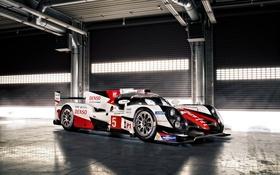 Обои суперкар, Toyota, тойота, LMP, TS050