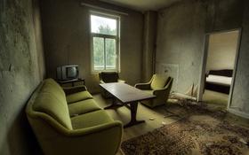 Обои комната, телевизор, окно