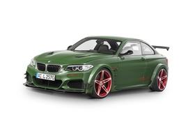 Обои бмв, купе, BMW, белый фон, F22, Coupe, AC Schnitzer
