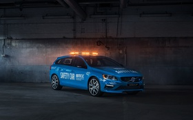 Картинка Volvo, вольво, Safety Car, V60