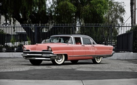 Обои Lincoln, Sedan, 1956, линкольн, Premiere, премьер
