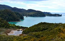 Обои море, побережье, Австралия, Tasman National Park