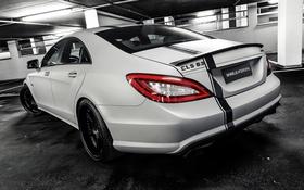 Обои Mercedes-Benz, мерседес, AMG, Wheelsandmore, C218, CLS-Class