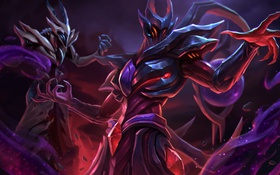 Обои тьма, монстр, арт, Heroes of Newerth, Ascension, Parallax