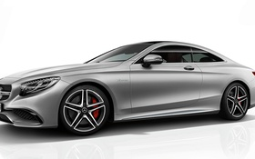 Картинка mercedes benz, coupe, amg, s63