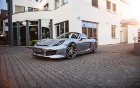 Обои Porsche, родстер, порше, Boxster, TechArt, бокстер