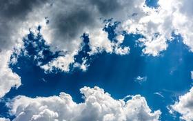 Обои небо, облака, красота