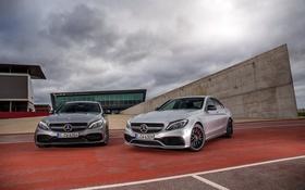 Обои Mercedes-Benz, седан, мерседес, C-Class, W205
