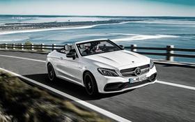 Обои Mercedes-Benz, кабриолет, мерседес, AMG, амг, Cabriolet, C-Class