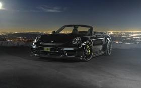 Обои 911, Porsche, кабриолет, порше, Turbo, Cabriolet, турбо