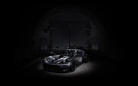 Обои черный, спорткар, кабриолет, KTM, Black, X-Bow