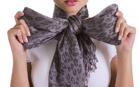 Картинка fashion, fabric, stole, chignon
