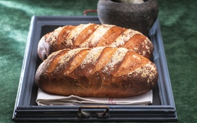 Обои хлеб, выпечка, батон