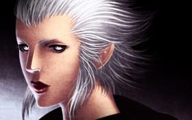 Обои лицо, фантастика, Final Fantasy, art, Merlwyb Bloefhiswyn, Merlwyb