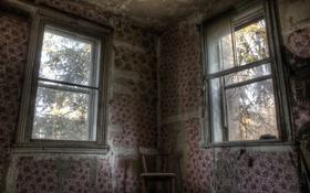 Картинка комната, окна, стул