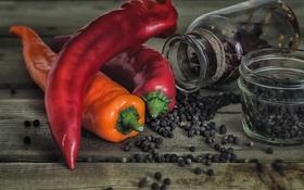 Картинка фон, еда, перец