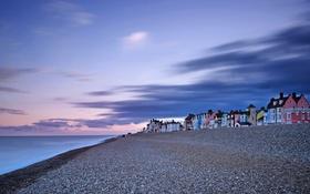 Обои море, берег, Beach, Aldeburgh