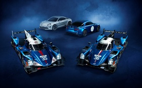 Картинка фон, суперкар, Nissan, ниссан, Alpine, LMP, A460