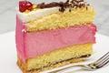 Картинка торт, слои, крем, кусок