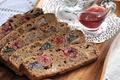 Картинка хлеб, джем, сухофрукты