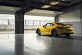 Картинка желтый, Porsche, Cayman, порше, GT4, кайман