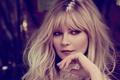 Картинка лицо, Kirsten Dunst, модель, рука, портрет, макияж, актриса