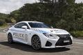 Картинка белый, Lexus, Police, лексус, RC F