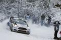 Картинка Ford, Снег, Занос, WRC, Rally, Fiesta, Elfyn Evans