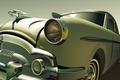 Картинка ретро, вектор, General Motors, Caddilac