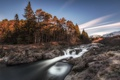 Картинка Scotland, Waterfall, River Orchy