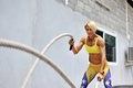Картинка female, workout, crossfit, heavy rope